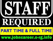 Staff Needed Full Or Part Time Vacancies
