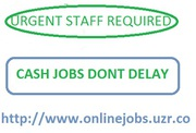 Urgent JOB OFFERED,  Full/Part Time (CASH PAY)